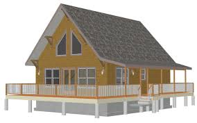 apartments cottage plans with loft log cabin house plans