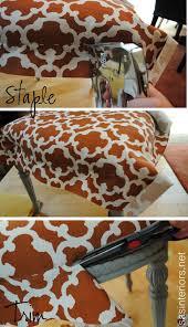 Reupholster Armchair Tutorial Diy Reupholstered Side Chair Jenna Burger