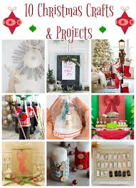 10 christmas projects and crafts holidays craft and diy stockings