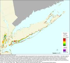 State Of Ny Map by More Sea Level Rise Maps For New York State