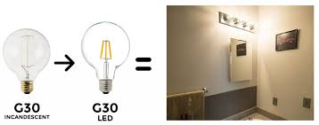 Best Type Of Light Bulb For Bathroom Vanity The Ultimate Household Led Bulb Replacement Guide