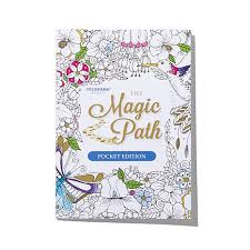 colorama coloring book with magic path books and pencils 7985043