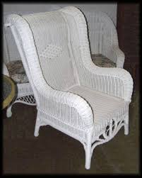 Wingback Wicker Chair High Back Wicker Chair Ultimate Venue