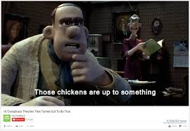 Chicken Running Meme - those chickens are up to something 10 conspiracy theories that