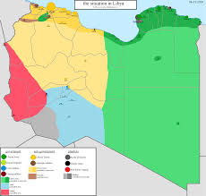 Current Map Of Middle East by