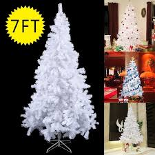 7ft christmas tree costway 7ft artificial pvc christmas tree w stand season