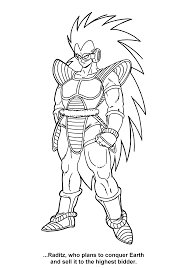 coloring page dragon ball z coloring pages 85