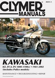 kz zx u0026 zn 1000 1100cc motorcycle 1981 2002 service repair manual