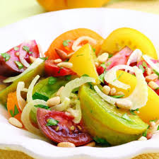 Ina Garten Salad Recipes by Tomato U0026 Fennel Salad Recipe Eatingwell