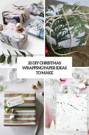 unique christmas wrapping paper 20 diy christmas wrapping paper ideas to make shelterness