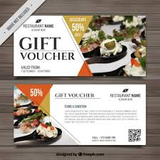 discount restaurant gift cards coupon vectors photos and psd files free