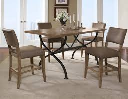 counter dining chairs hillsdale charleston 5pc rectangle counter dining set w parson
