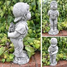 boy garden ornament bg13 39 99 garden4less uk shop