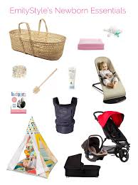 newborn essentials my 12 favorite newborn essentials emilystyle