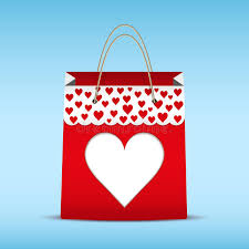s day shopping shopping bag for s day stock vector illustration of