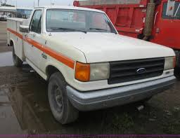 Ford F250 Service Truck - 1988 ford f250 utility truck item d2067 sold july 8 gov