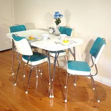 antique kitchen table chairs retro dining table sets stunning suite chrome vintage kitchen
