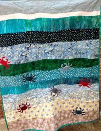 theme quilts a moment of whimsy crabby baby quilt