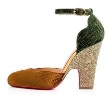 fashion buy womens christian louboutin aketi specchio glitter