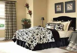 grey and brown wall paint black and white bedroom decor ideas