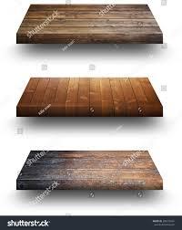 Wood Plank Shelves by Wooden Shelves On White Stock Photo 358375064 Shutterstock