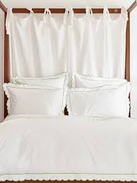 green scalloped bed linen collection sophie conran shop