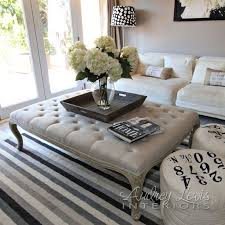 White Ottoman Coffee Table - living room large ottoman coffee table round australia canada