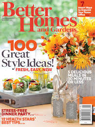 1 year free subscription to better homes and gardens magazine with