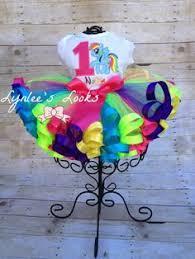 my pony ribbon ribbon trim tutu by purpledaisyboutique