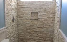 Walk In Shower Ideas For Small Bathrooms Shower Beloved Doorless Shower Ideas For Small Bathrooms