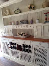 large country style buffet and hutch painted in annie sloan old