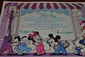 harmony barber shop first haircut package magical mouse planner