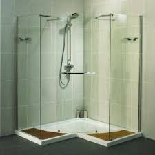 Corner Shower Units For Small Bathrooms Walk In Shower Marvelous Complete Shower Kits Small Shower
