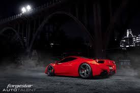 ferrari 458 custom ferrari 458 italia with forgestar cf5 concave wheels