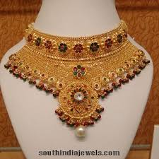 chokers necklace gold images Latest gold choker design from kalyan jewellers gold choker and jpg