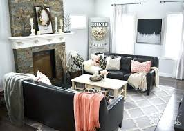 cheap modern living room ideas contemporary living room decor black white and blush pink
