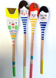 kitchen craft ideas 9 best wooden spoons images on painted spoons kitchen