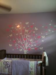 Butterfly Wall Decals For Nursery by Large Wall Tree Baby Nursery Decal Butterfly Cherry Blossom 1139