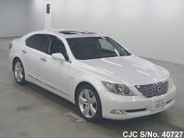 lexus ls generations 2006 lexus ls 460 pearl for sale stock no 40727 japanese used