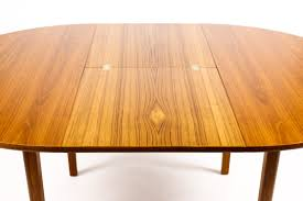 1161 u2014danish modern mid century teak expandable dining table
