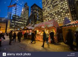 chicago german christkindlmarket winter festival open air outdoor