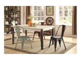 Keller Dining Room Furniture Coaster Keller Vintage 5 Rectangular Table And Chair Set