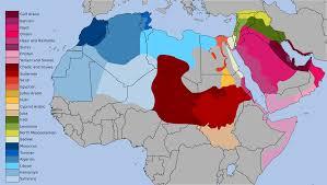 map arab varieties of arabic