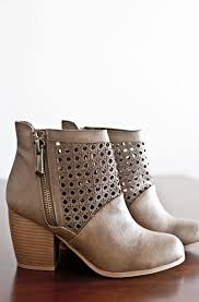 ugg womens emerson boots chestnut emerson ankle booties taupe doll up emerson taupe