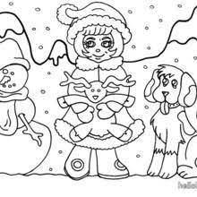 snowman u0027s hat coloring pages hellokids