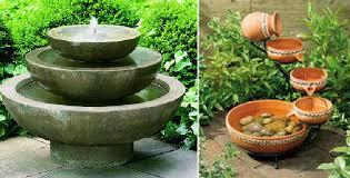 home garden fountains pool design ideas