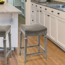 kitchen bar stools backless grey backless counter stools leather stool nailhead with backs