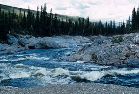 Map Of Alaska Rivers by Birch Creek