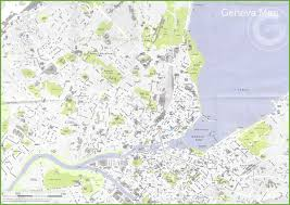 geneva map large detailed map of geneva