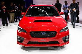 subaru sti 2016 red 2015 subaru wrx first look motor trend